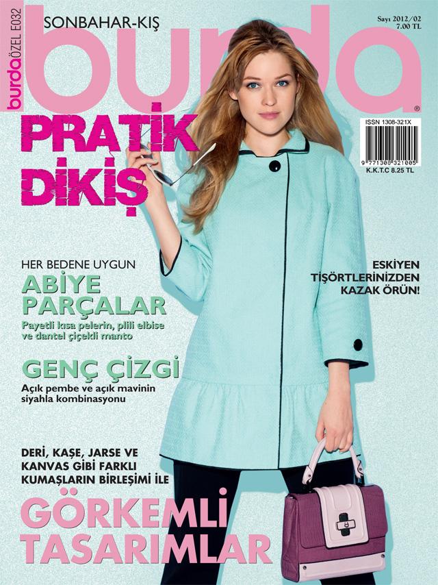 Burda Pratik Dikiş Dergisi Yeni Sayısı Çıktı!