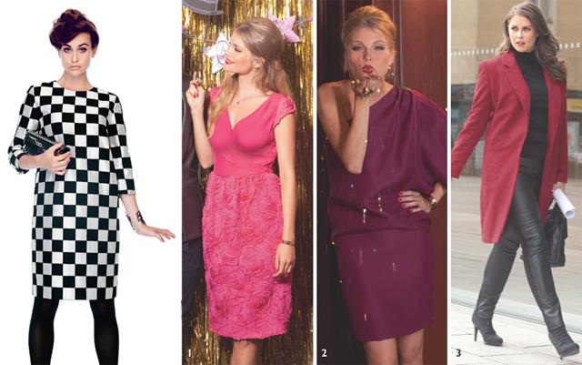 Kadın modasında zarif çizgiler