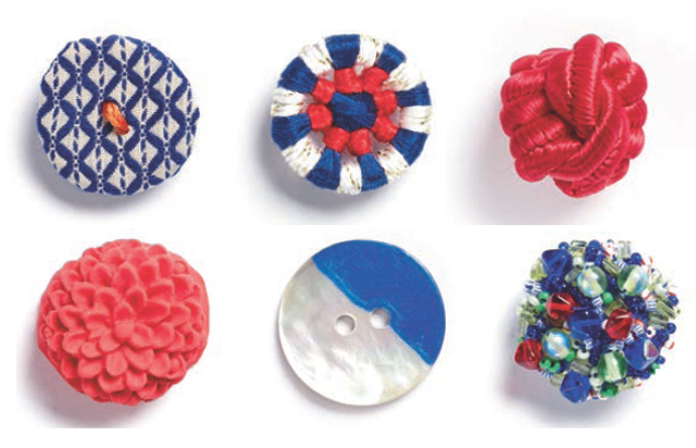 El yapımı düğmeler