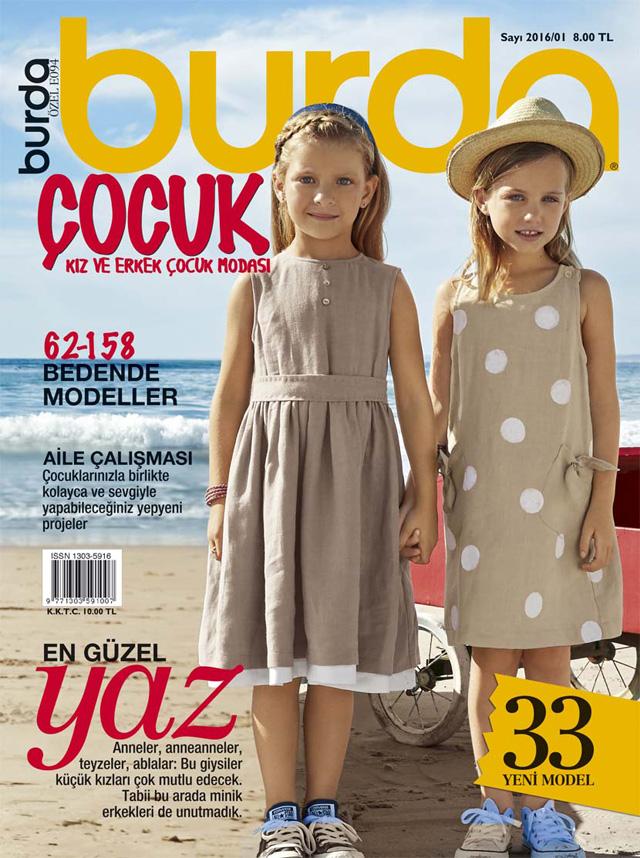 Burda Çocuk / Kız ve Erkak Çocuk Modası