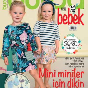 Burda Bebek dergisi bayilerde!